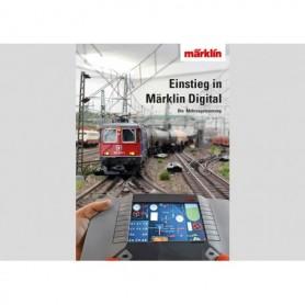 """Märklin 03081 Digitalbok """"Getting Started in Märklin Digital"""" Endast Tyska"""