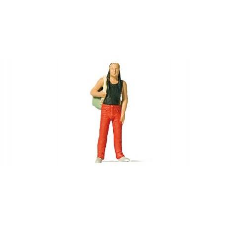 Preiser 28191 Man med ryggsäck, 1 figur