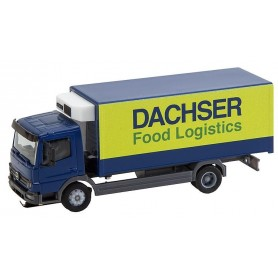 Faller 161555 Truck MB Atego Dachser Refrigerated Box (HERPA)