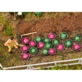 Faller 181263 Sallads, grön och röd, 10 av varje, höjd cirka 5 mm