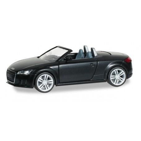 Herpa 028400 Audi Tt Roadster Brilliant Black