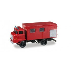 "Herpa 745055 IFA L 60 truck with equipment box ""Fire department"""