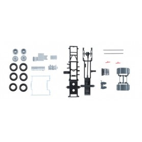 Herpa 084178 Volvo FH chassis for tractor with chassis Content: 2 pcs