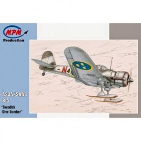 "MPM 72514 Flygplan SAAB B-5 ASJA ""Swedish Dive Bomber"""