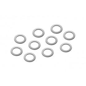 XRay 338586 Kopplingsshims, 5x7x0.5 mm, 10 st