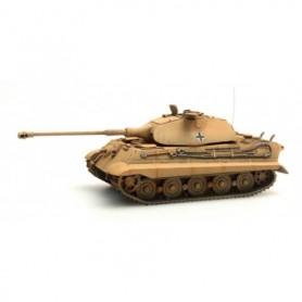 Artitec 38775Yw Tanks Tiger II (Porsche) Zimmerit, gul