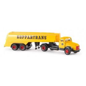 """Brekina 85613 Bil & Tanktrailer Volvo N88 """"Koppartrans"""""""
