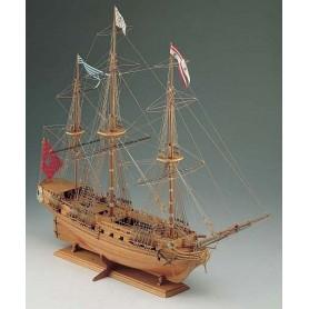 Corel SM14 La Sirene 18th Century French Frigate