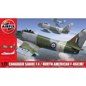 Airfix 03083 Flygplan Canadair Sabre F.4 / North American F-86E(M