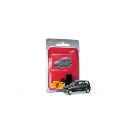 Herpa 012164.2 Fiat Qinquecento, svart, byggsats