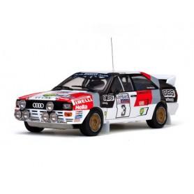 Sun Star 4225 Audi Quattro A2 - Winner Lombard RAC Rally 1983 No.3 S.Blomqvist/B.Cederberg