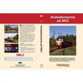 Teknikarv TAM11 Avskedsresorna på NKlJ, DVD