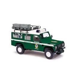 """Busch 50390 Land Rover Defender """"Nr 11 Bergwacht Polen"""""""