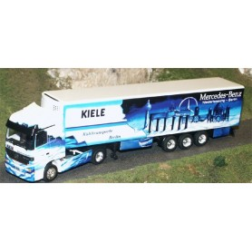 "Albedo 250001 MB Actros med skåptrailer Kyl ""Kiele - Mercedes Benz"""