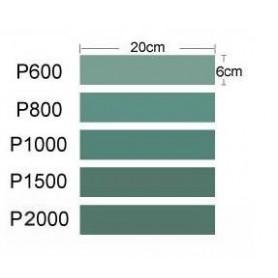 Trumpeter 09950 Sandpapper, 5 olika, P600, P800, P1000, P1500, P2000
