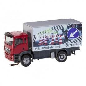 Faller 161554 Truck MAN TGS Repair Shop Service Truck (HERPA/RIETZE)