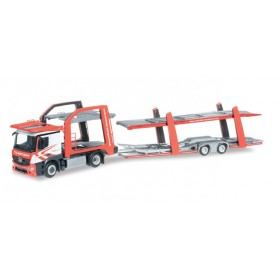 "Herpa 304412 Mercedes-Benz Actros Classicspace Eurolohr car transporter vehicle ""Turinsky"""