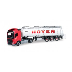 "Herpa 304481 Volvo FH GL semitrailer for goods ""Hoyer"""
