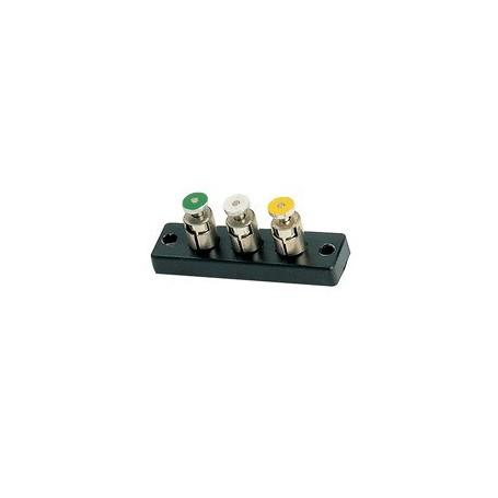 Trix 66580 Kopplingsplint, med tryckklämmor, passsar för Trix/Minitrix
