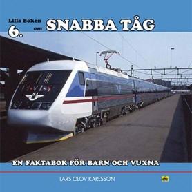 Media BOK174 Lilla boken 6 - Snabba Tåg