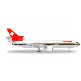 "Herpa 500005.1 Flygplan Swissair McDonnell Douglas DC-10-30 - HB-IHL ""Ticino"""