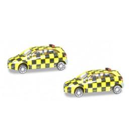 Herpa 556880 Scenix Mercedes-Benz Follow-Me Van (2-pack)