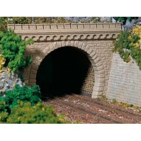 Auhagen 11343 Tunnelportal, dubbelspår