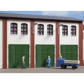 Auhagen 80253 Metalldörrar, 6 st, 36 x 41 mm