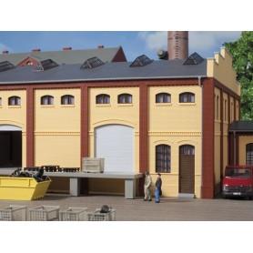 Auhagen 80620 Wall 2410A, walls 2410B and walls 2410D, yellow