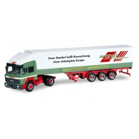 "Herpa 304719 Iveco Turbostar canvas semitrailer ""Wandt"""