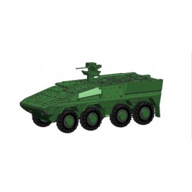 Herpa 745130 GTL Boxer Transport vehicle, undecorated (military green)