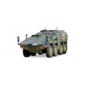Herpa 745161 GTL Boxer sanitary vehicle, decorated