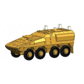 Herpa 745147 GTL Boxer sanitary vehicle, undecorated (sand beige)