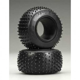 "Traxxas 4790R Däck Spiked 2.2"" R, 2 st (soft-compound)(rear) (2)/ foam inserts (2)"