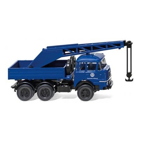 Wiking 69323 THW crane truck (Krupp 806), 1964