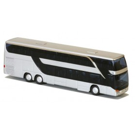 AMW 11261.1 Buss Setra S 431 DT Euro6, vit med svart tak