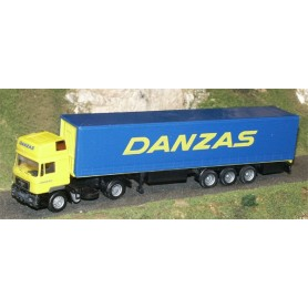 "Albedo 298008 MAN med kapelltrailer ""DANZAS"""