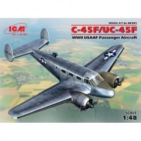 ICM 48181 Flygplan C-45F/UC-45F, WWII USAAF Passenger Aircraft