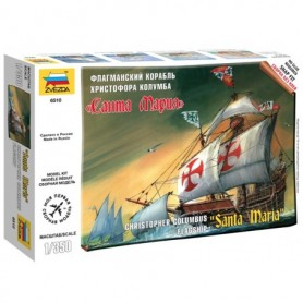 "Zvezda 6510 Santa Maria ""Christopher Columbus Flagship"" Snap-Fit"