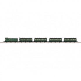 Märklin 87506 Vagnsset med 5 personvagnar typ SNCB