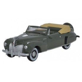 Oxford Models 108592 Lincoln Continental 1941 Pewter Grey