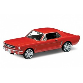 Welly 12519 Ford Mustang 1964 1/2, svart