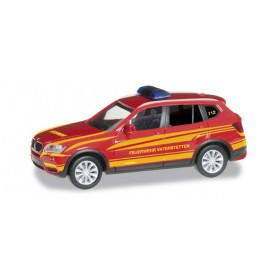 "Herpa 092050 BMW X3 commando vehicle ""Vaterstetten fire department"""