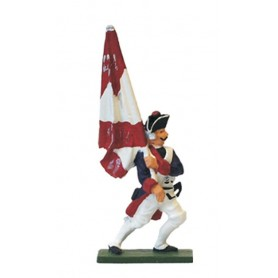 "Prince August 61 Battle of Rossbach Prussian ""Standard Bearer"""