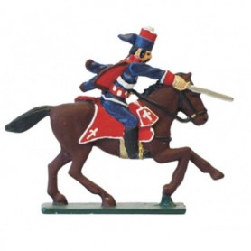 "Prince August 65 Battle of Rossbach France ""Hussar"""