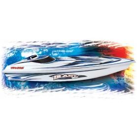Traxxas 38104.1 Blast Elbåt med Stingermotor, 2.4 Ghz TQ sändare