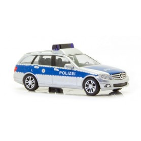 "Busch 43665 Mercedes Benz C-Klass ""Polizei Baden-Württemberg"""