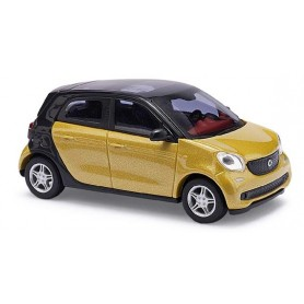 "Busch 49555 Smart Forfour 2014 ""CMD"", gulmetallic"