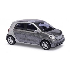 "Busch 49557 Smart Forfour 2014 ""CMD"", gråmetallic"