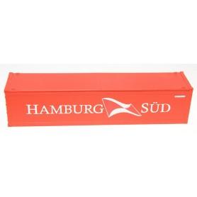 """Fleischmann 00018 Container 40-fots Hi-Cube Container """"Hamburg Süd"""""""